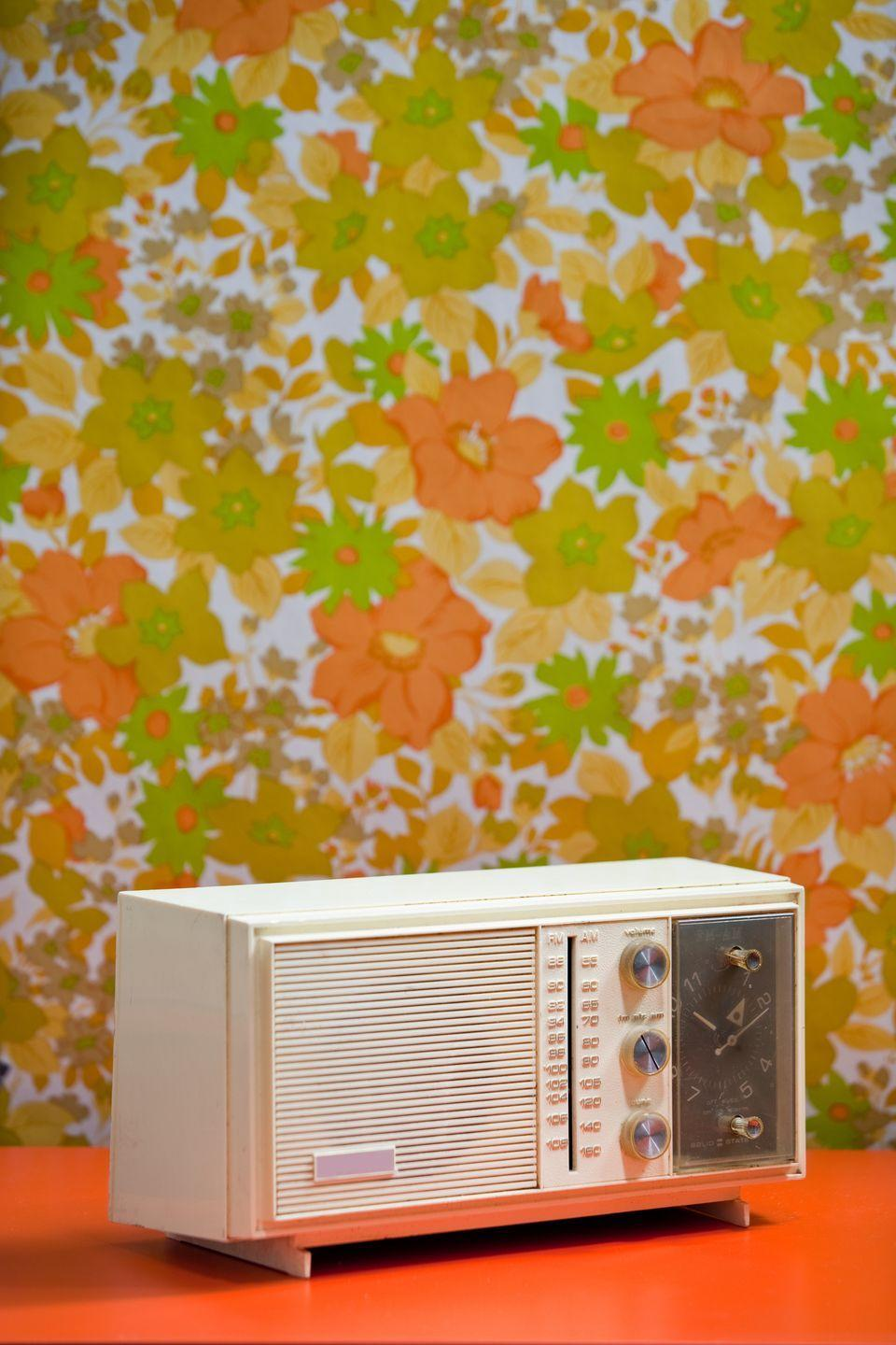 <p>Back before internet and satellite radio, there was only AM and FM, and folks in the 70s listened to it on devices made just for that. </p>