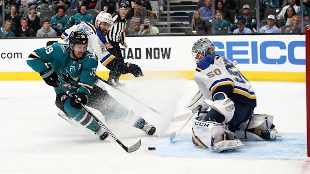 The San Jose center thinks the Department of Player Safety is failing to punish players for illegal hits.