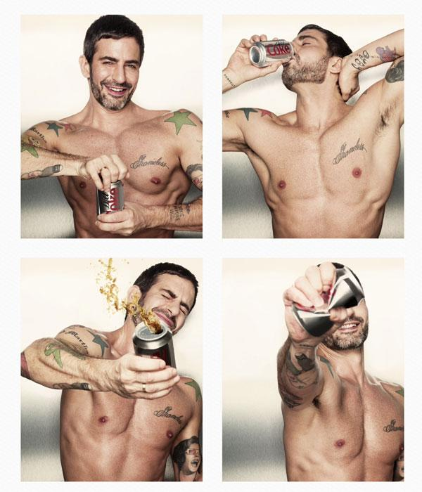 Marc Jacobs Is A Diet Coke Hunk! The Designer Teams Up With Diet Coke As Creative Director