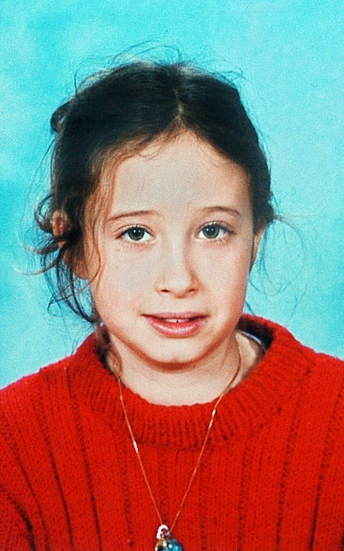 Estelle Mouzin, a 9 years old child who is missing since 2003. - AFP