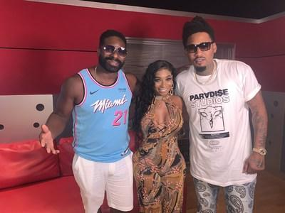 DJ Irie, Dyamond Doll, Ball Greezy and Trina release Miami Heat (Dwade remix) with official music video.