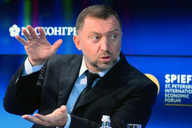 Oleg Deripaska has close links to Russian President Vladimir Putin