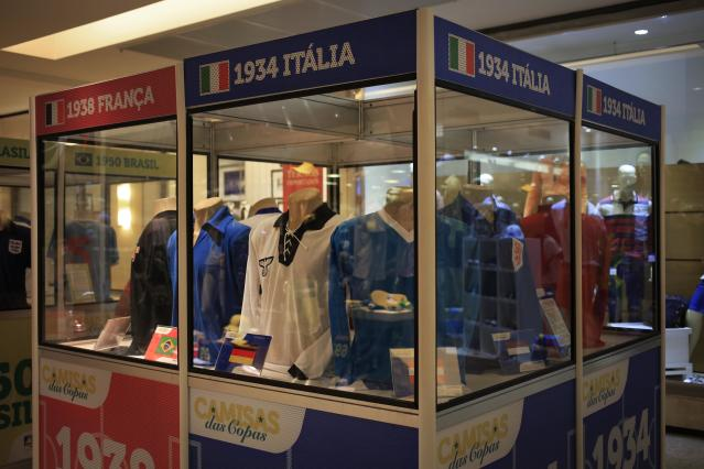 Display of Nazi-era Germany shirt causing controversy in World Cup host city