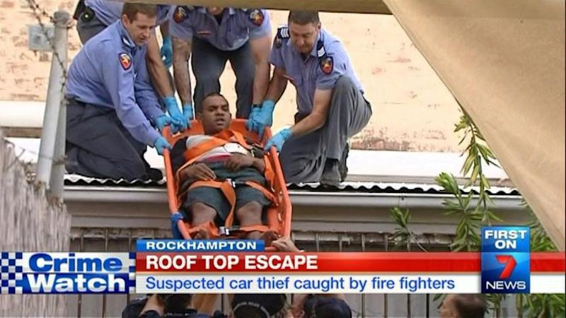 Firefighters become crime fighters in Rockhampton