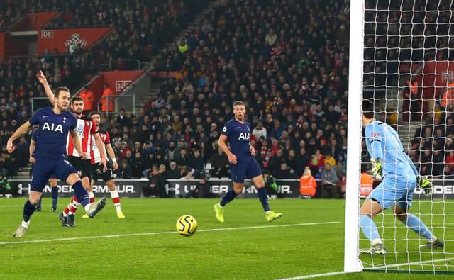 Kane suffered the injury while scoring an offside goal in a 1-0 loss at Southampton on New Year's Day (Mark Kerton/PA)
