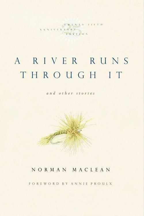 """<p><strong><em>A River Runs through It</em> by Norman Maclean</strong></p><p><span class=""""redactor-invisible-space"""">$26.14 <a class=""""link rapid-noclick-resp"""" href=""""https://www.amazon.com/River-through-Stories-Twenty-fifth-Anniversary/dp/0226500667/ref=sr_1_1?tag=syn-yahoo-20&ascsubtag=%5Bartid%7C10063.g.34149860%5Bsrc%7Cyahoo-us"""" rel=""""nofollow noopener"""" target=""""_blank"""" data-ylk=""""slk:BUY NOW"""">BUY NOW</a> </span></p><p><span class=""""redactor-invisible-space"""">This semi-autobiographical story of Maclean's life growing up in Montana with his brother, Paul, is recognized as a classic work of literature in the 20th century. Written when he was 70 years old and published in 1976, <em>A River Runs Through It</em> is an appreciation of nature and the simplistic world he lived in. </span></p>"""