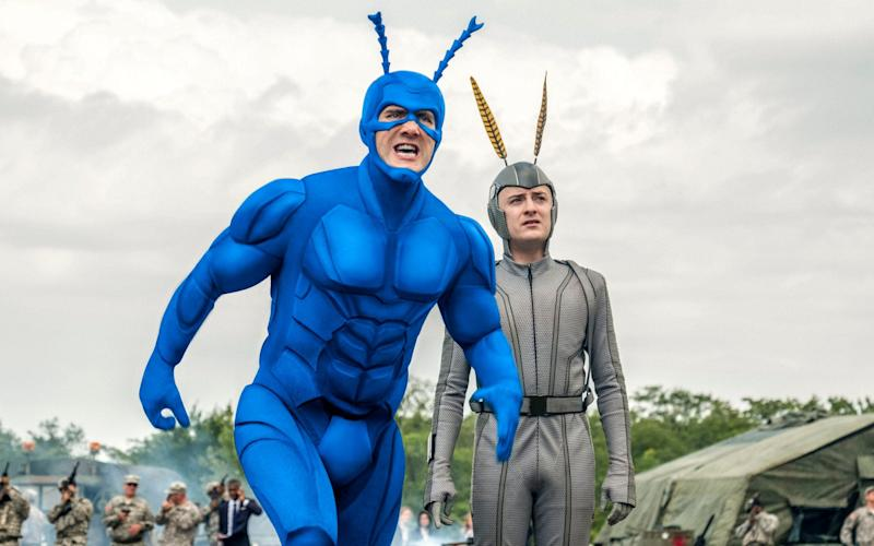 Sony Pictures produces Amazon series The Tick - Television Stills