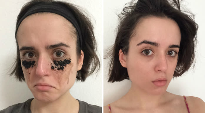 I used a coffee undereye mask for one week and the results weren't what I expected