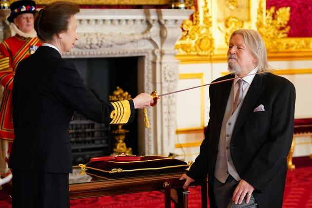 Investitures at St James's Palace