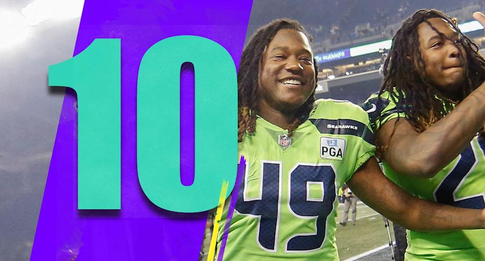 <p>Not only are the Seahawks looking good for a wild-card spot, they'll likely be the top wild-card team in the NFC. There are a lot of great candidates for coach of the year, but Pete Carroll needs to be mentioned too. (Shaquill and Shaquem Griffin) </p>
