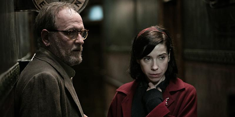 "Richard Jenkins and Sally Hawkins star in ""The Shape of Water."" (Courtesy of TIFF)"