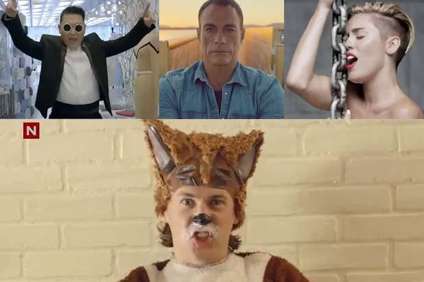 Psy, Ylvis, Miley Cyrus Top YouTube's Trending Videos of 2013