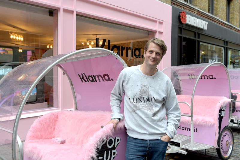 Klarna cofounder and CEO Sebastian Siemiatkowski attends the official launch of the Klarna Pop-Up on 4 June in London, England. Photo: David M Benett/Getty/Klarna