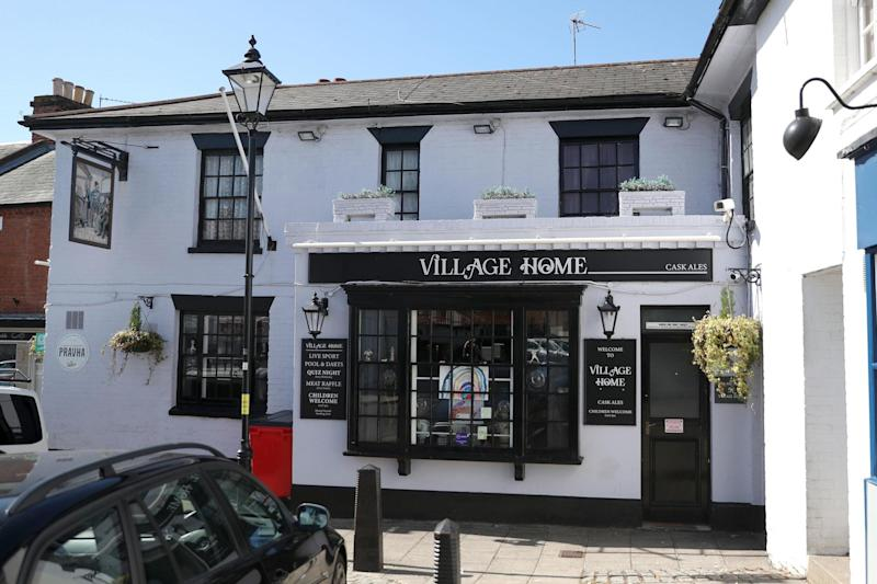 The Village Home pub was also closed again this week, along with another nearby pub (PA)