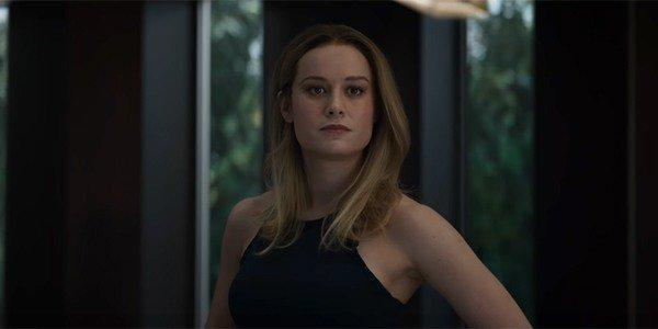 Avengers: Endgame nearly didn't include Captain Marvel fighting Thanos.