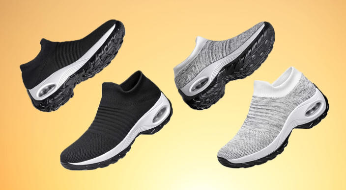 On your feet all day? Yhoon walking shoes will be yor saving grace. (Photo: Amazon/Getty)