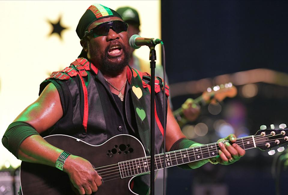Toots and the Maytals perform on stage. (PHOTO: Singapore GP)