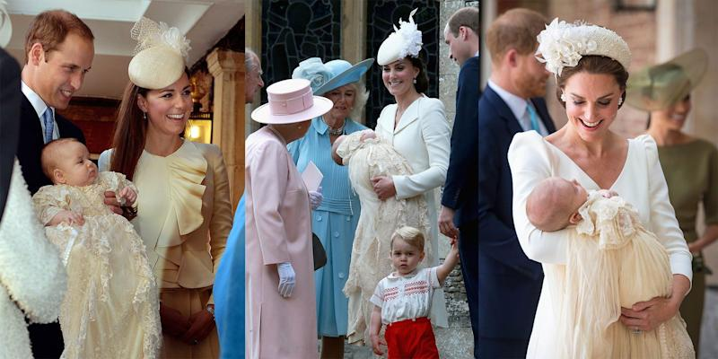 All The Adorable Photos From Prince Louis' Christening