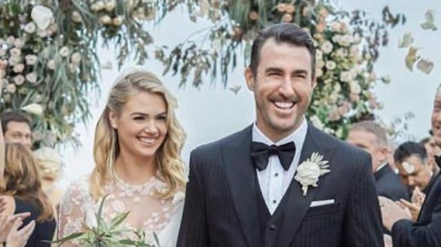 Congratulations are in order for Kate Upton and Justin Verlander.
