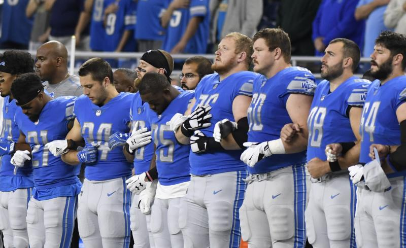 National Football League owners to consider whether players should have to stand for anthem