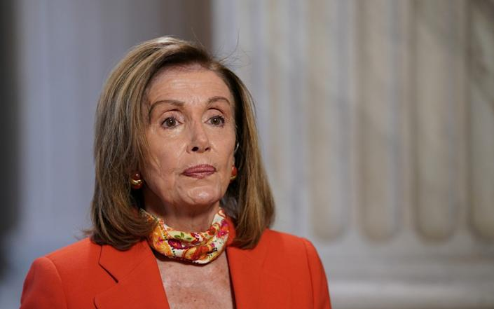 Nancy Pelosi has criticised the bill - Stefani Reynolds/Bloomberg