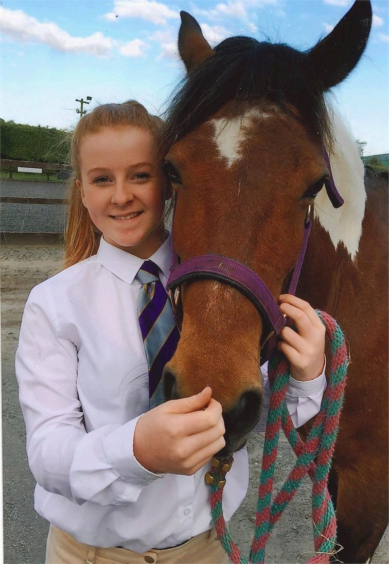 Hannah Bragg was a keen horserider (Picture: SWNS)