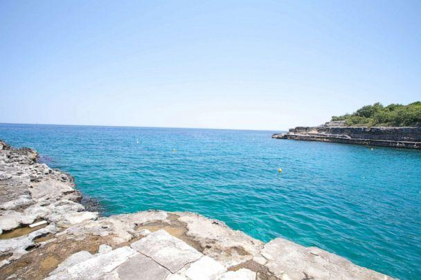 PHOTO: Beach at Le Cale d'Otranto Beach Resort, Otranto.  (Oyster.com)