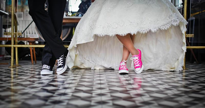 Married couple's shoes