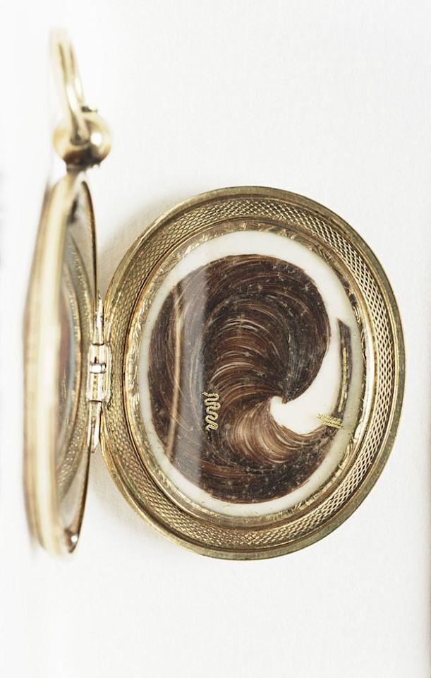 "<p>""I still have a ring made out of hair that belonged to my grandmother. It was an old Victorian Era tradition<span>."" <em>— Gretchen; Sharon, Pennsylvania</em></span></p>"