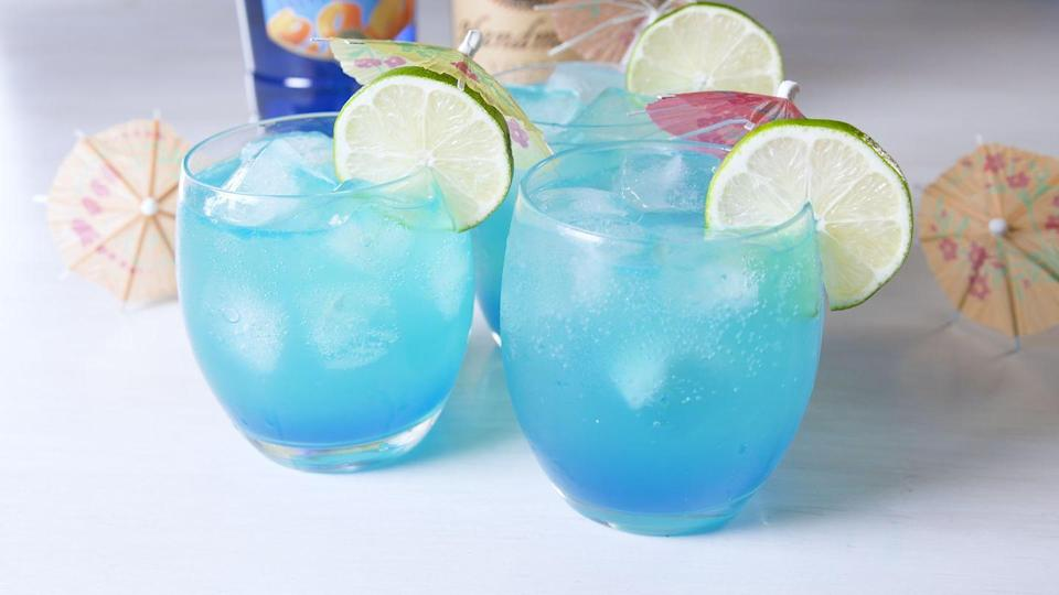 """<p>Super refreshing for those hot summer days.</p><p>Get the recipe from <a href=""""https://www.delish.com/cooking/recipe-ideas/a20840734/mermaid-mules-recipe/"""" rel=""""nofollow noopener"""" target=""""_blank"""" data-ylk=""""slk:Delish."""" class=""""link rapid-noclick-resp"""">Delish.</a> </p>"""