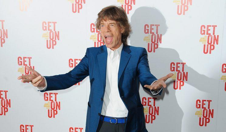 At the premiere of 'Get on Up' - Credit: Getty