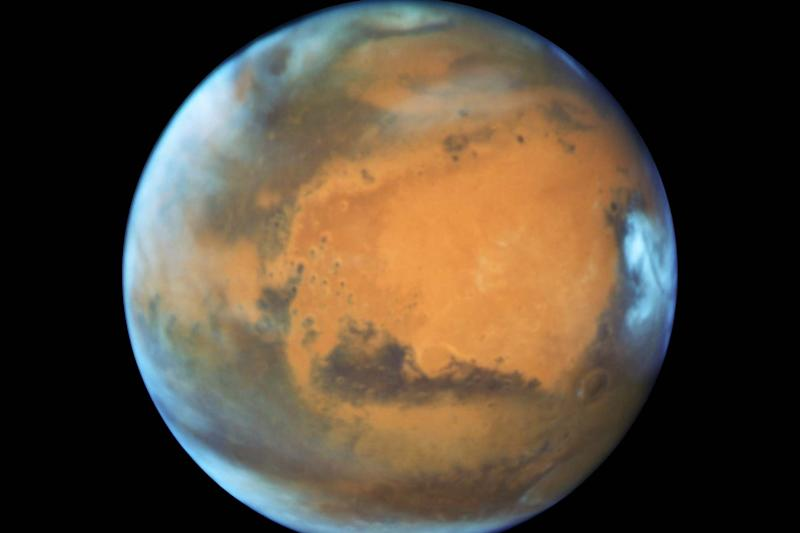 Life on Mars? Research hints at salty ponds under red planet's surface