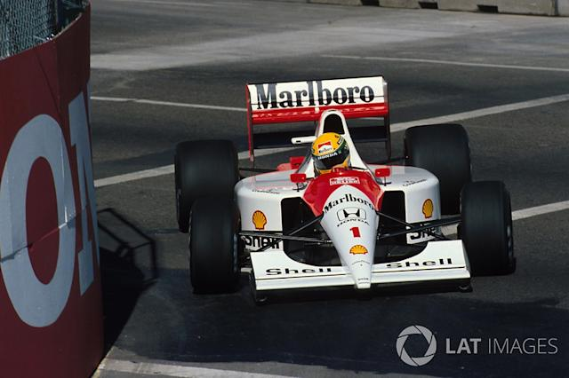 "1991 - McLaren <span class=""copyright"">Sutton Motorsport Images</span>"