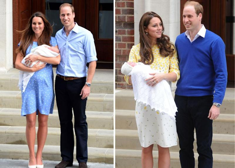 Both George and Charlotte were also born in the Lindo Wing. Photo: Getty