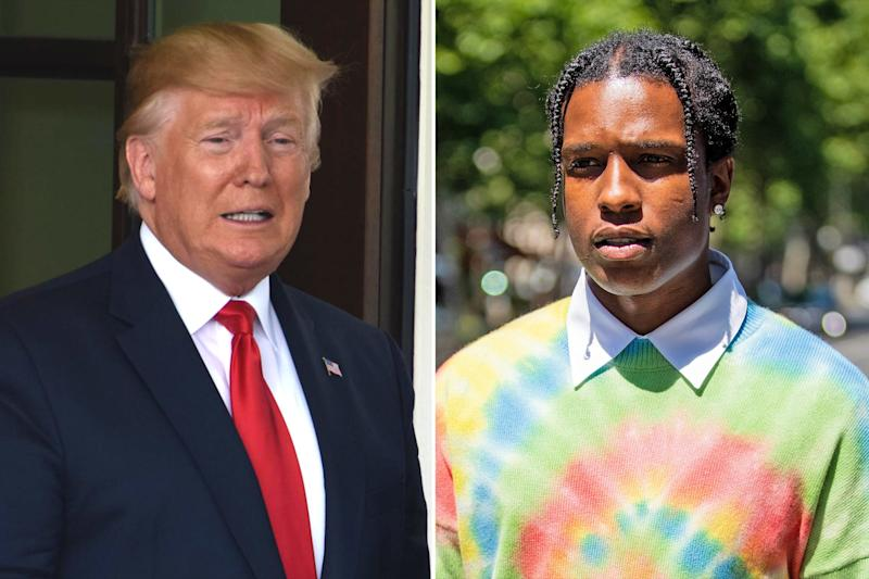 Donald Trump says he wants to help A$AP Rocky with Swedish incarceration