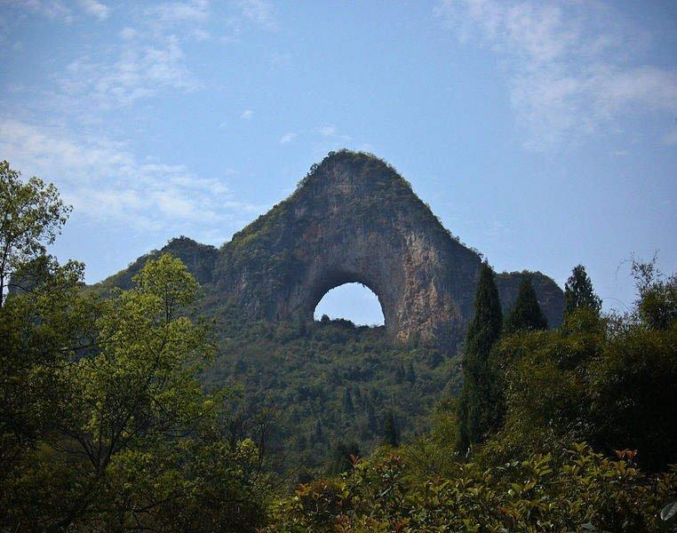 Moon Hill is a favourite spot for abseiling, though our writer was too destroyed to do itGuan Tjun Tan/Facebook