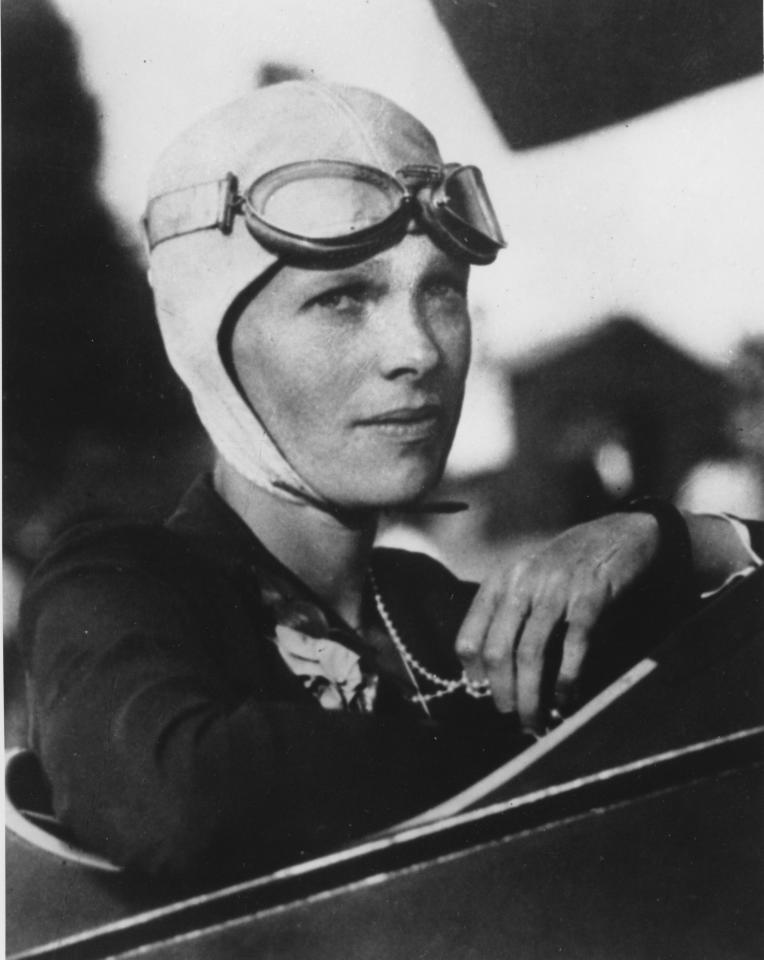 FILE - This undated file photo shows Amelia Earhart. Three bone fragments found on a South Pacific island could help prove that Earhart died as a castaway after failing in her quest to circumnavigate the globe. Researchers told The Associated Press on Friday Dec. 17, 2010 that the University of Oklahoma hopes to extract DNA from bones found by a Delaware group dedicated to the recovery of historic aircraft. The fragments were recovered earlier this year on an uninhabited island about 1,800 miles south of Hawaii.