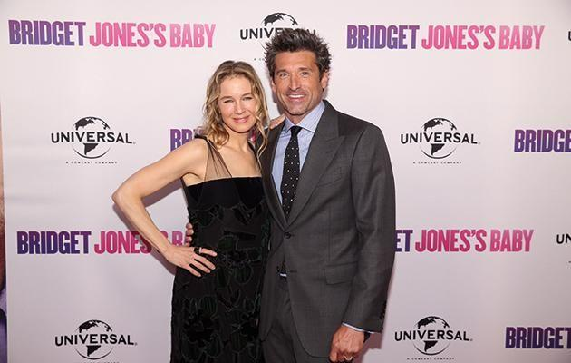 Renee Zellweger and Patrick Dempsey. Source: Supplied
