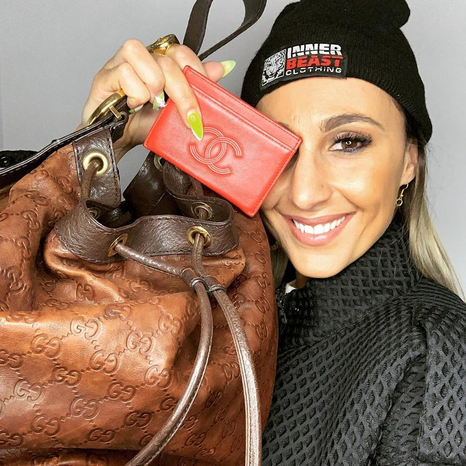 MAFS's Amanda Micallef wants to 'start a new life' and is asking fans to foot the bill. Photo: Instagram/amanda.m.micallef.