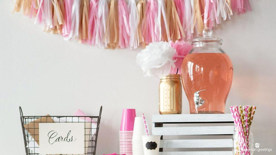 """<p>Your party of one will get an instant upgrade with this background, which will remind all of your friends of your Galentine's Day celebration from year's past. </p><p><a class=""""link rapid-noclick-resp"""" href=""""https://www.americangreetings.com/stay-connected/virtual-backgrounds"""" rel=""""nofollow noopener"""" target=""""_blank"""" data-ylk=""""slk:DOWNLOAD HERE"""">DOWNLOAD HERE</a></p>"""