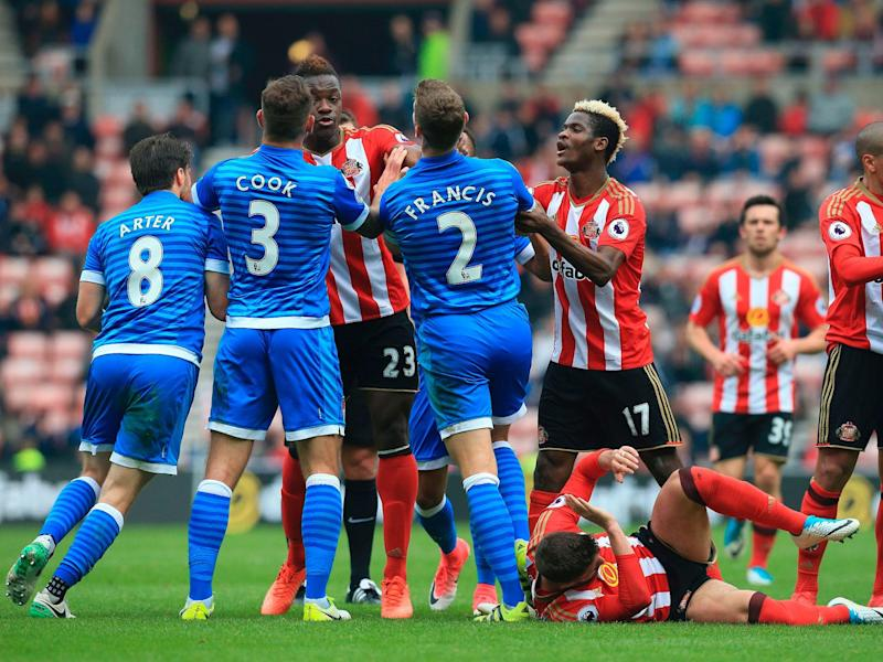 Sunderland and Bournemouth have been charged by the FA: AFP