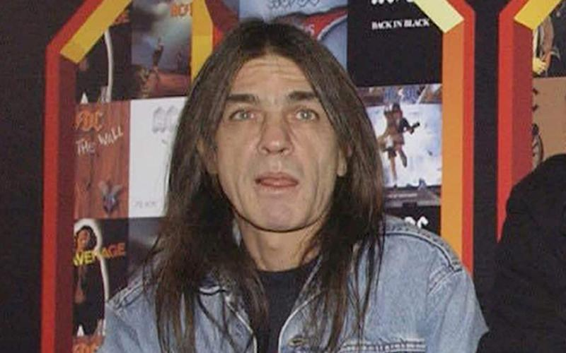 AC/DC co-founder and guitarist Malcolm Young - PA