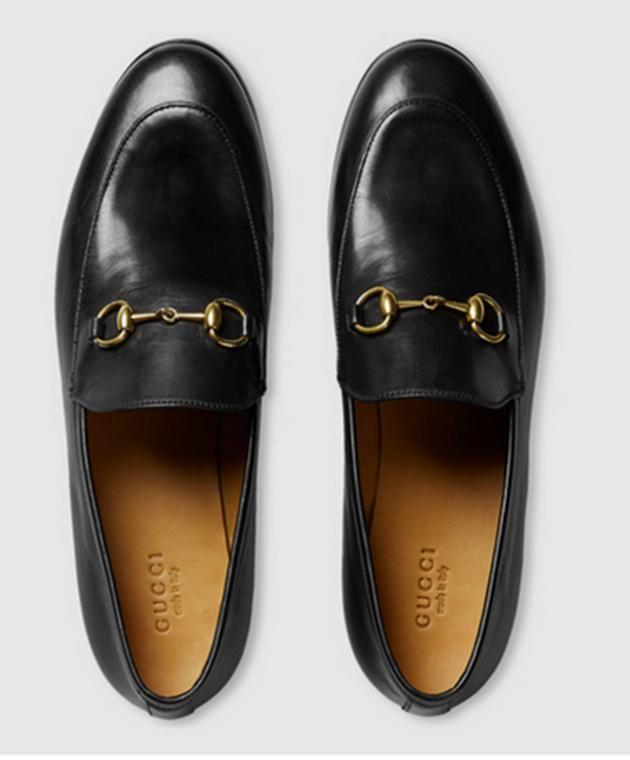 Gucci Jordaan leather loafer. (Photo: Gucci)
