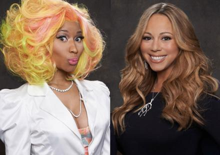 "Nicki Minaj change de disque : ""J'adore Mariah Carey"""