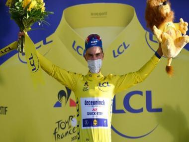 Tour de France 2020: Julian Alaphilippe wins stage two, dedicates victory to late father