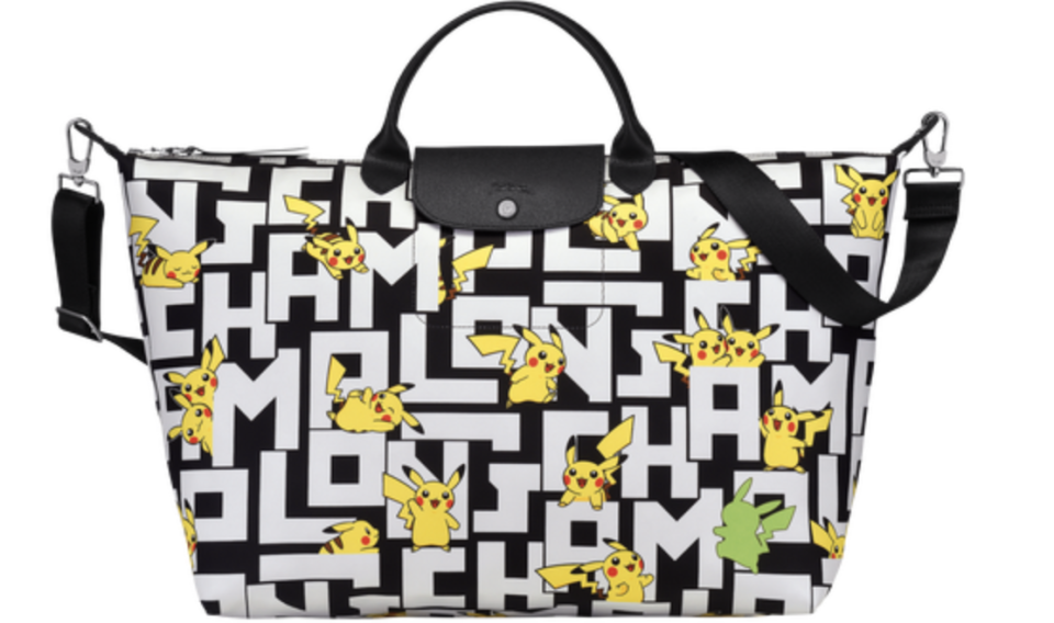 Longchamp X Pokemon Large Travel Bag