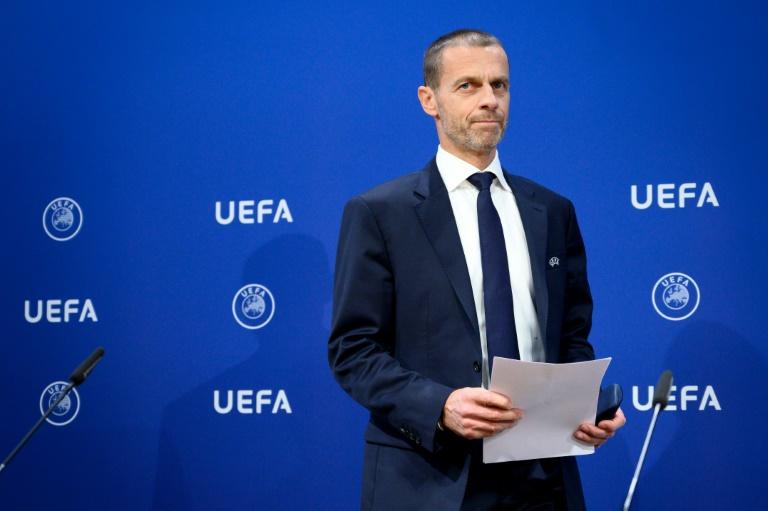 (FILES) UEFA president Aleksander Ceferin - the next European Championship will be held in Germany in 2024