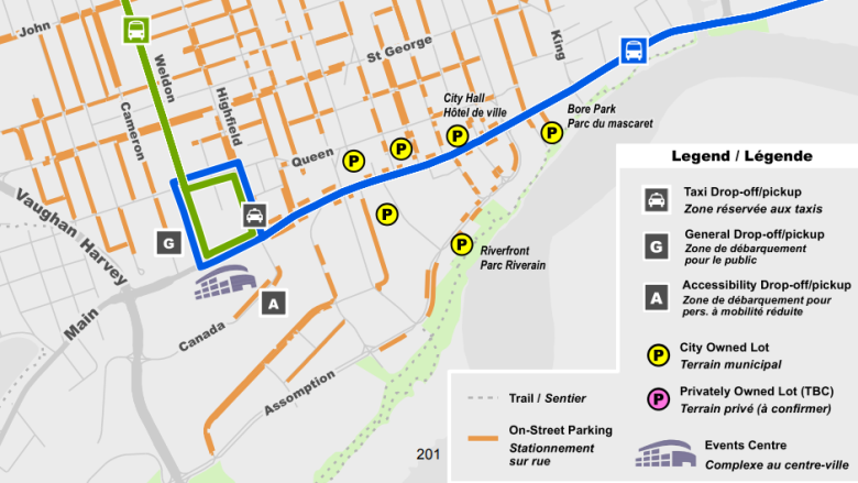 Moncton hopes people will walk, bus when going to new downtown centre