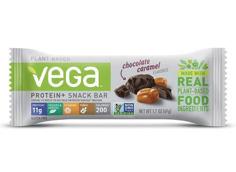 Vega protein snack bar chocolate caramel