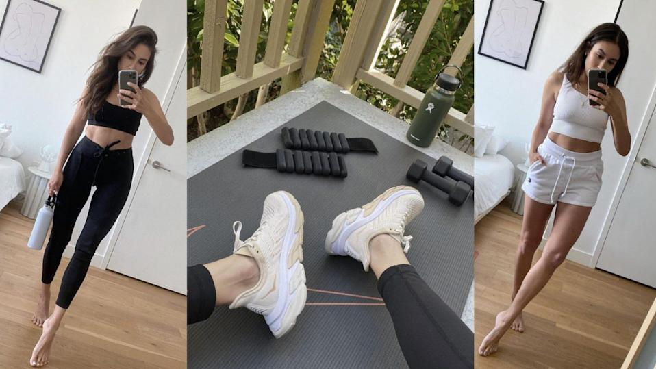 Lauren Caruso's workout essentials